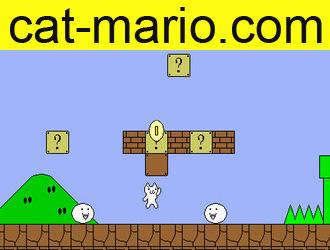 Марио играть онлайн бесплатно кот